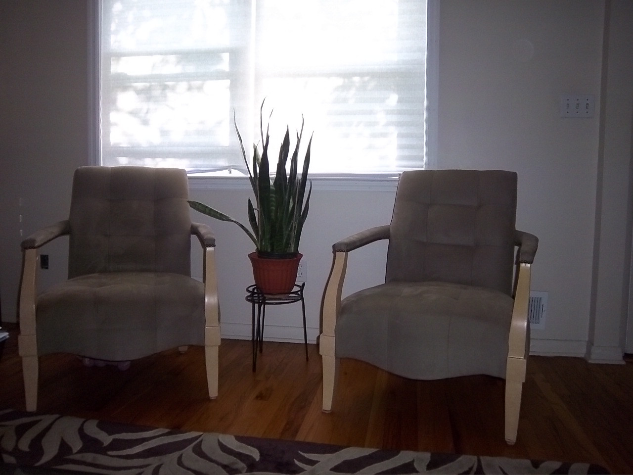 Bella Supersuede Accent Chairs