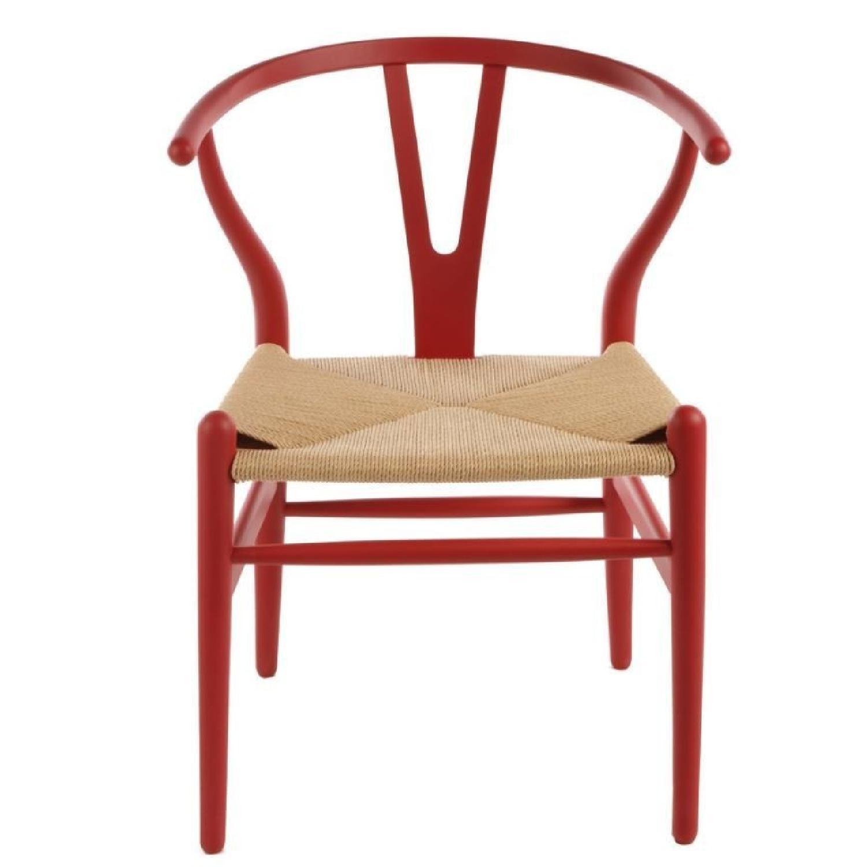 Hans Wegner Replica Red Dining Chair