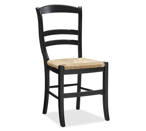 Pottery Barn Isabella Dining Chairs in Black