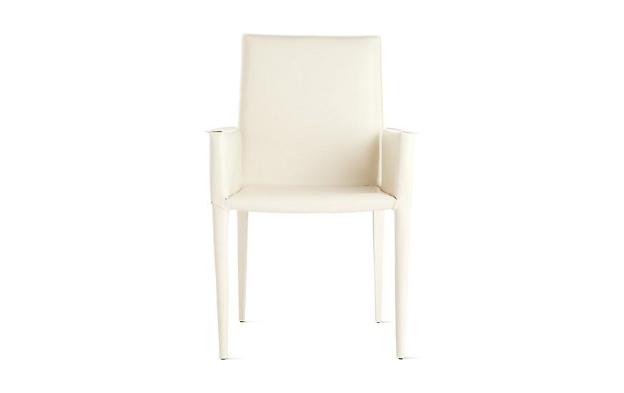 Design Within Reach Off White Bottega Arm Chair