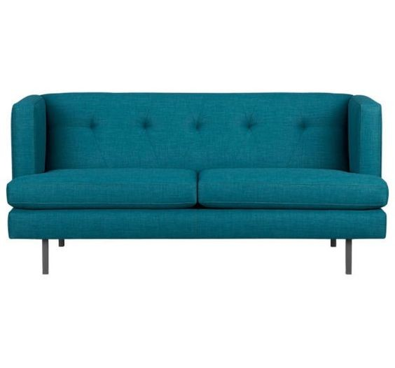 CB2 Avec Apartment Sofa in Peacock