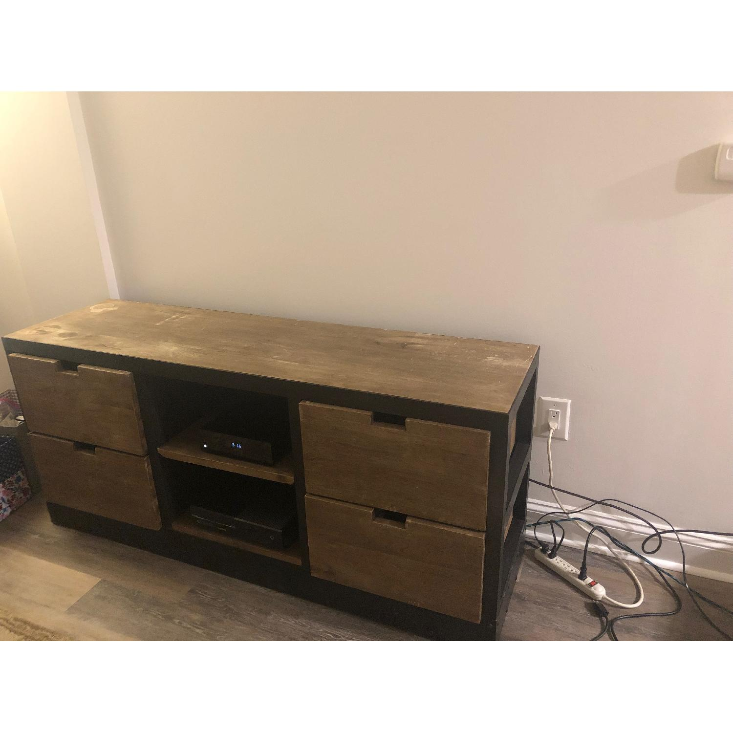 Restoration Hardware 1950s Dutch Shipyard Media Console