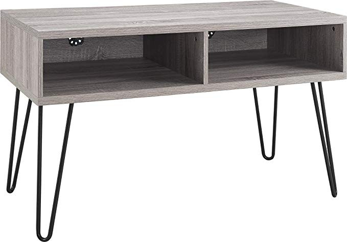 Ameriwood Industries Coffee Table + Multi Purpose Stand