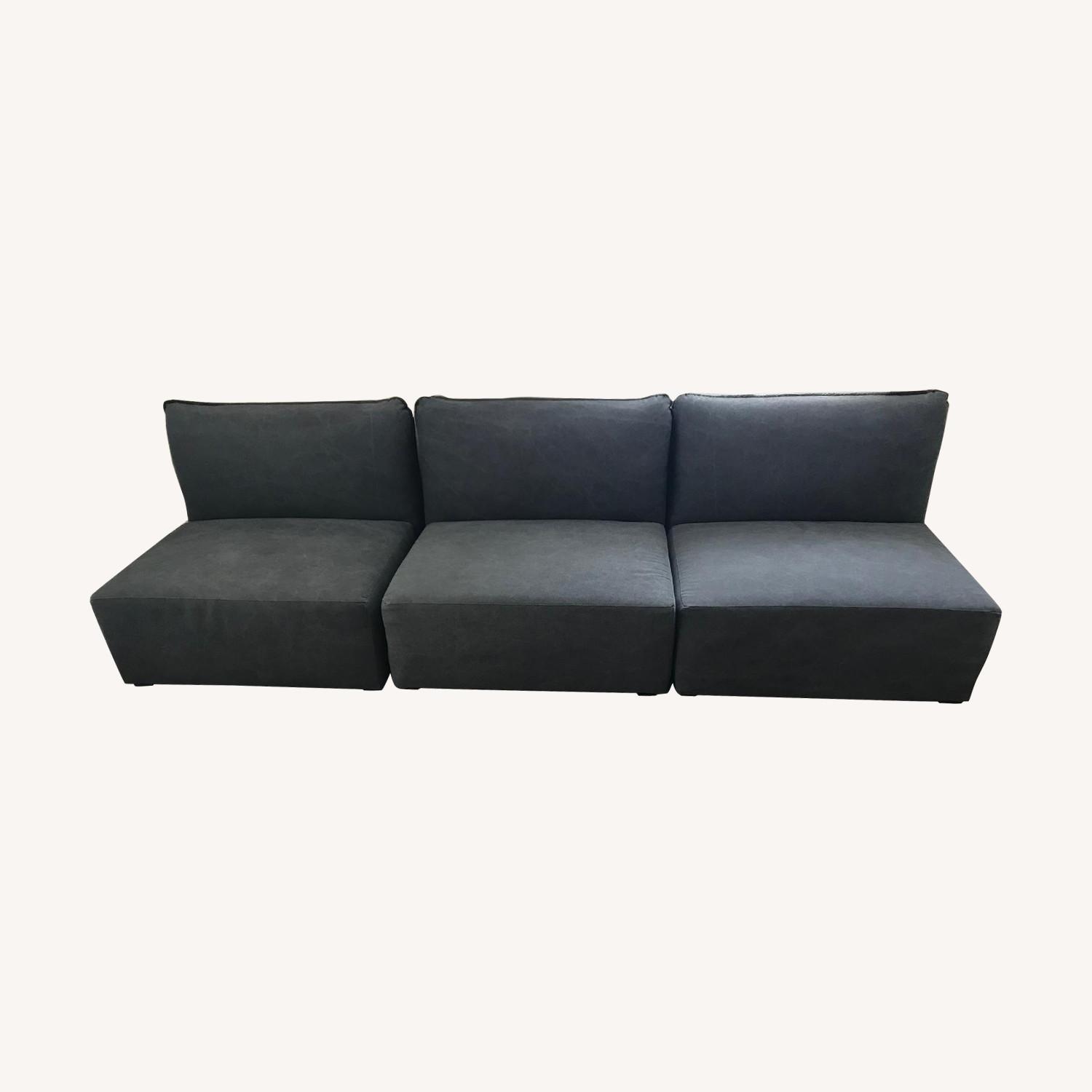 Pottery Barn Teen Lounge Sectional Sofa Aptdeco