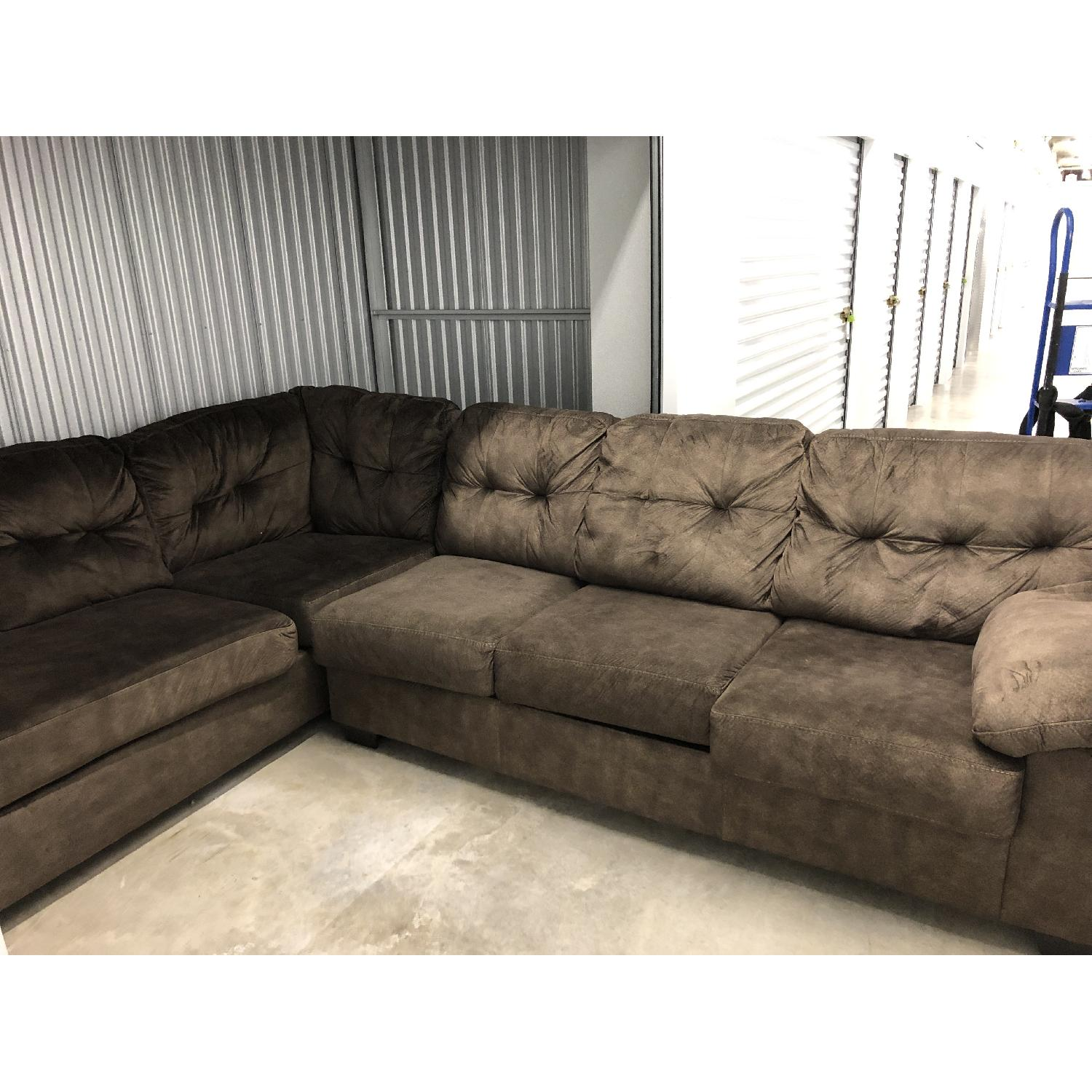 Fabulous Ashley 2 Piece Sectional Sofa Aptdeco Spiritservingveterans Wood Chair Design Ideas Spiritservingveteransorg
