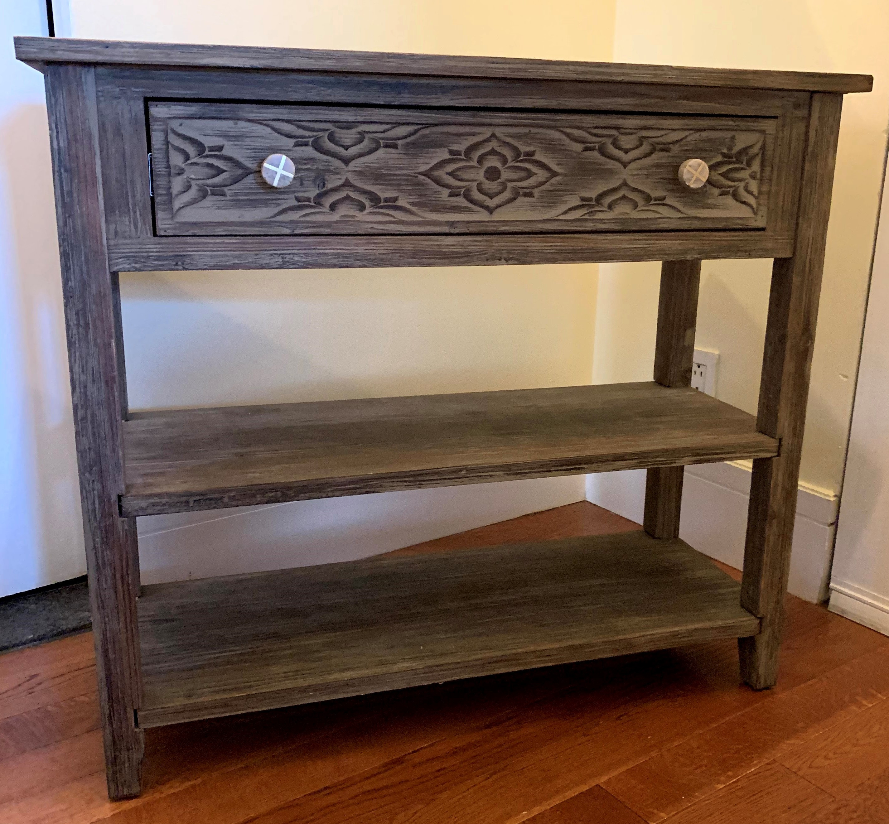 Warne Console Table w/ Anthropologie Knobs