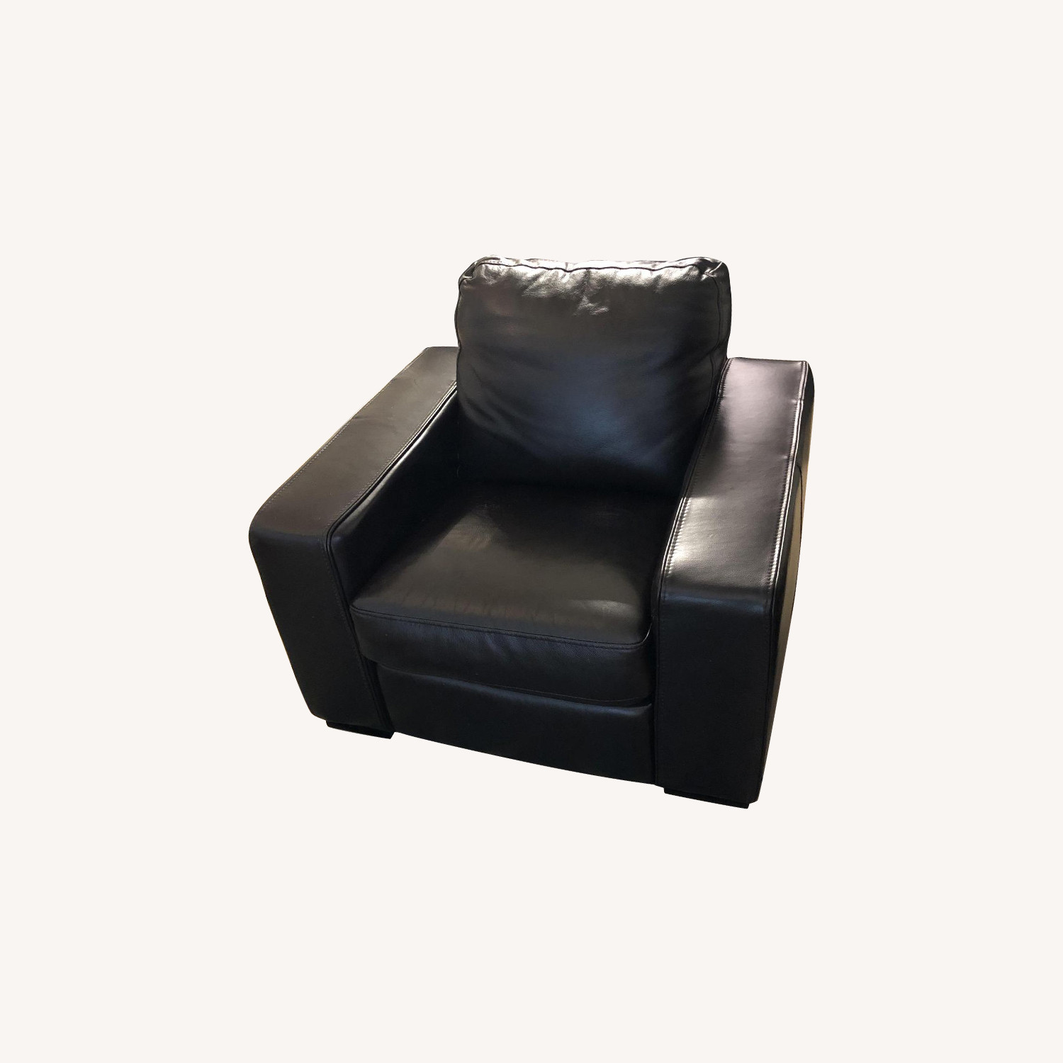 Macy's Leather Electric Recliner