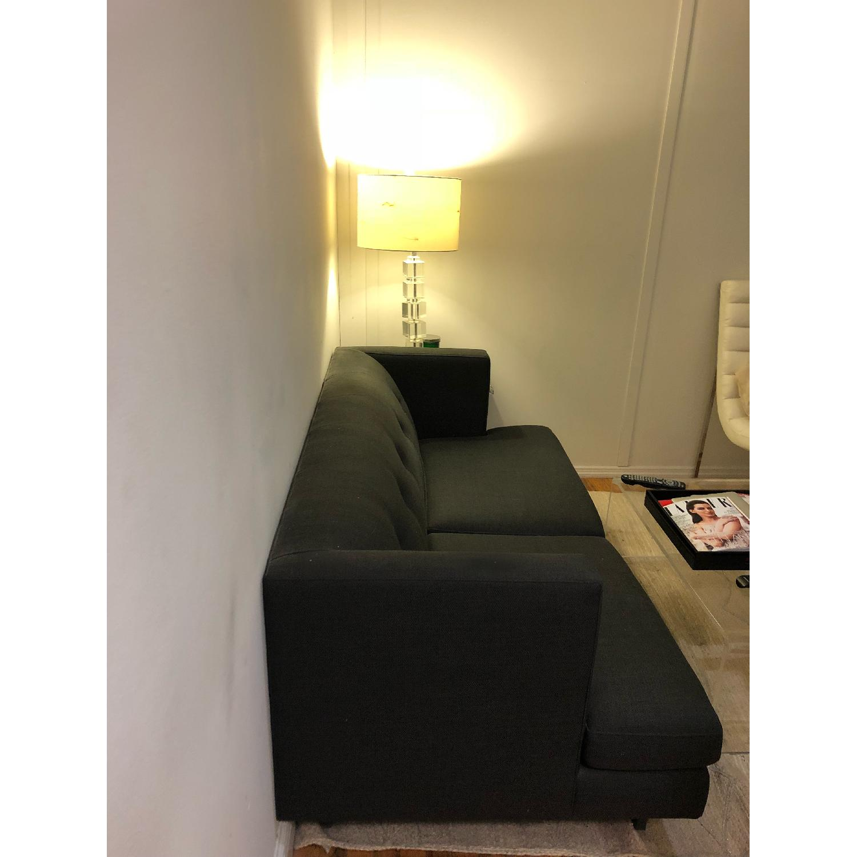 Prime Cb2 Avec Apartment Sofa In Carbon Aptdeco Creativecarmelina Interior Chair Design Creativecarmelinacom