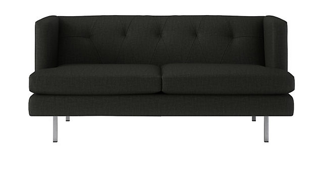 CB2 Avec Apartment Sofa in Carbon