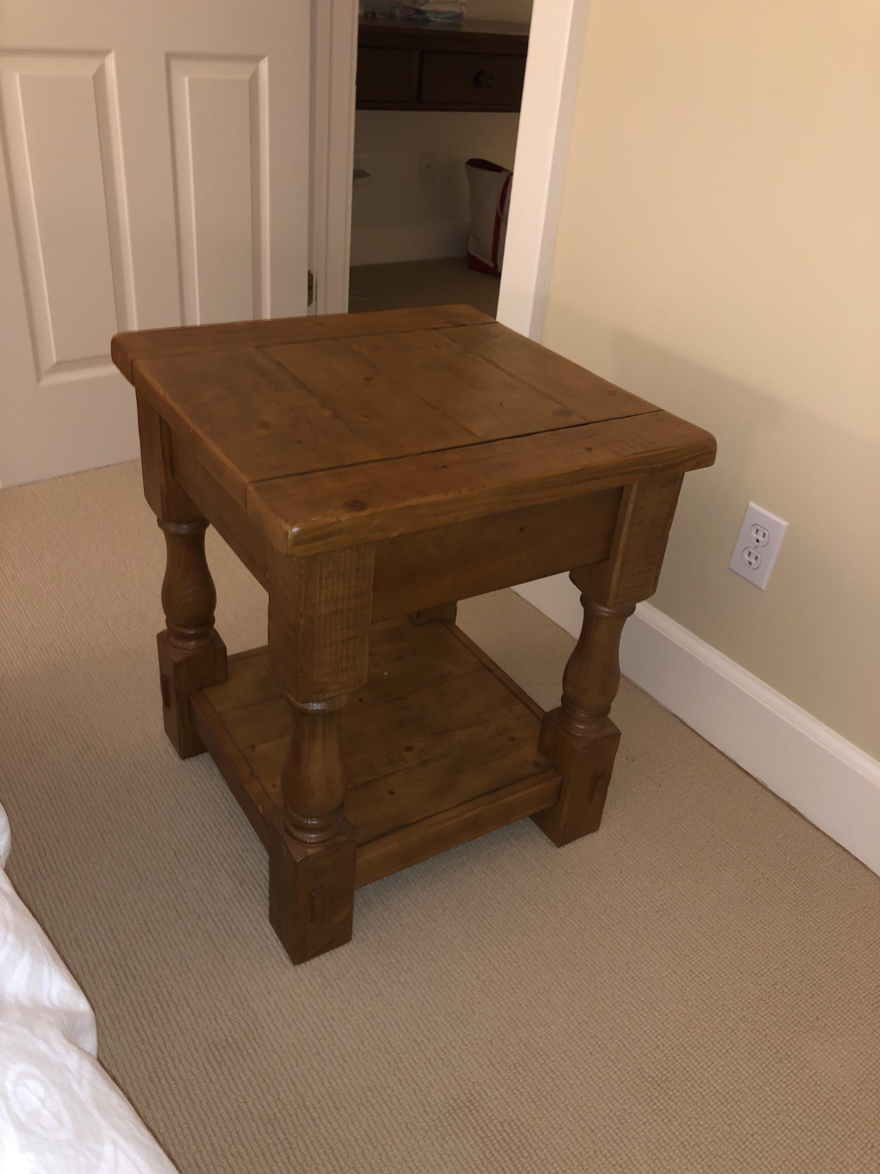 Pottery Barn Cortona Side Table