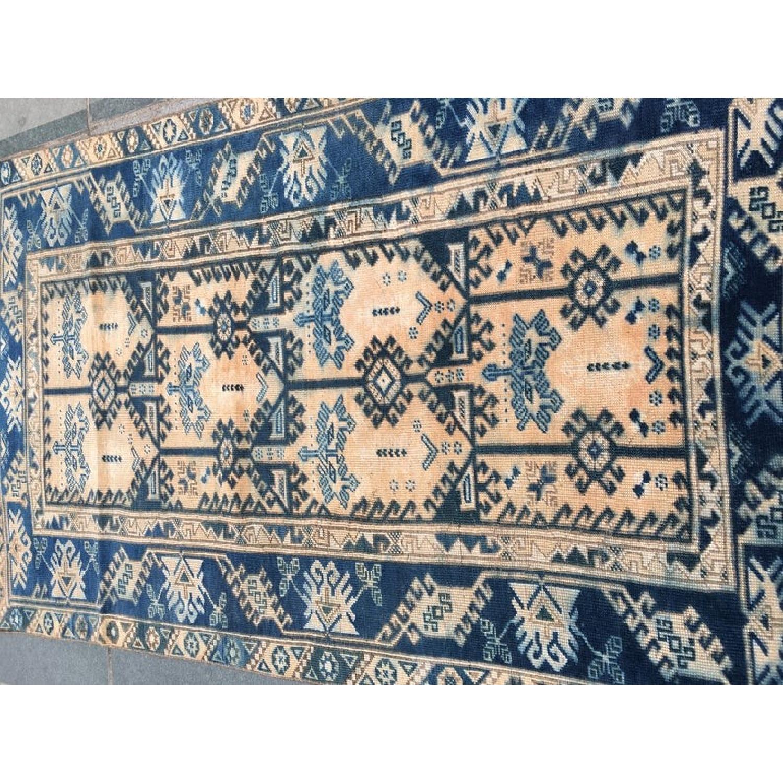 Handmade Vintage Turkish Rug