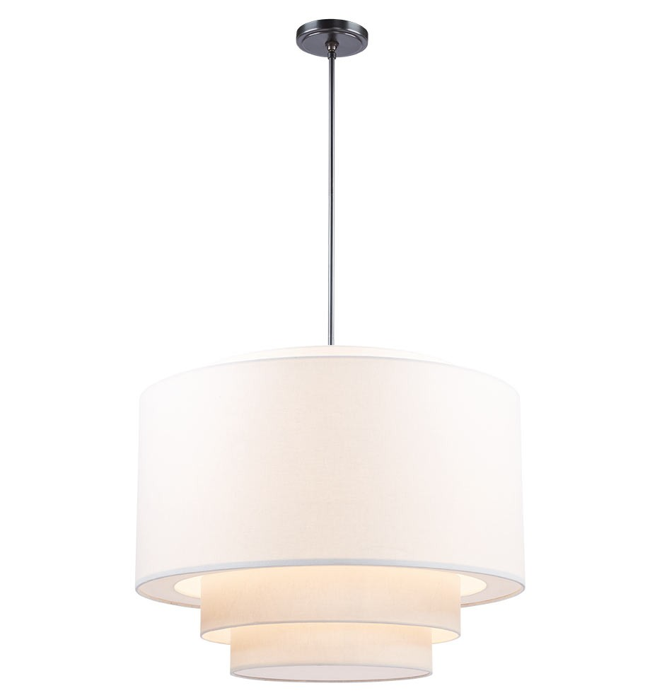 Rejuvenation Large Tiered Drum Pendant
