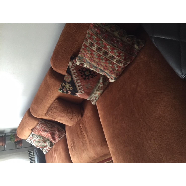 Italian Sleeper Sectional Sofa w/ Storage