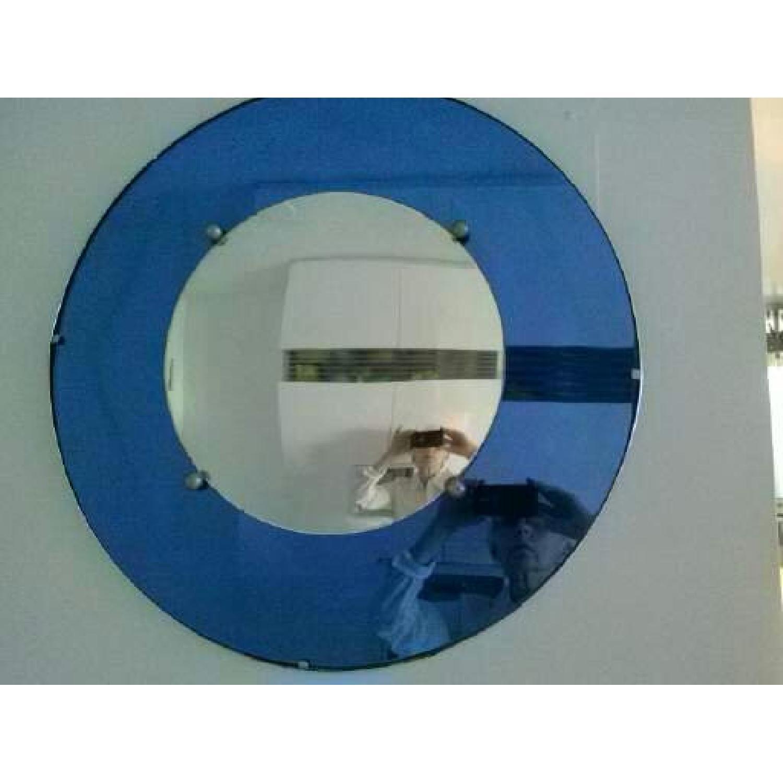 Round Art Deco Mirror