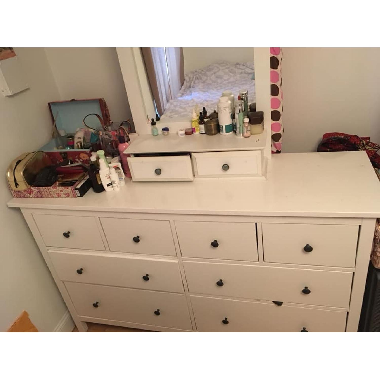 Ikea Hemnes 8 Drawer Dresser W Mirror Aptdeco