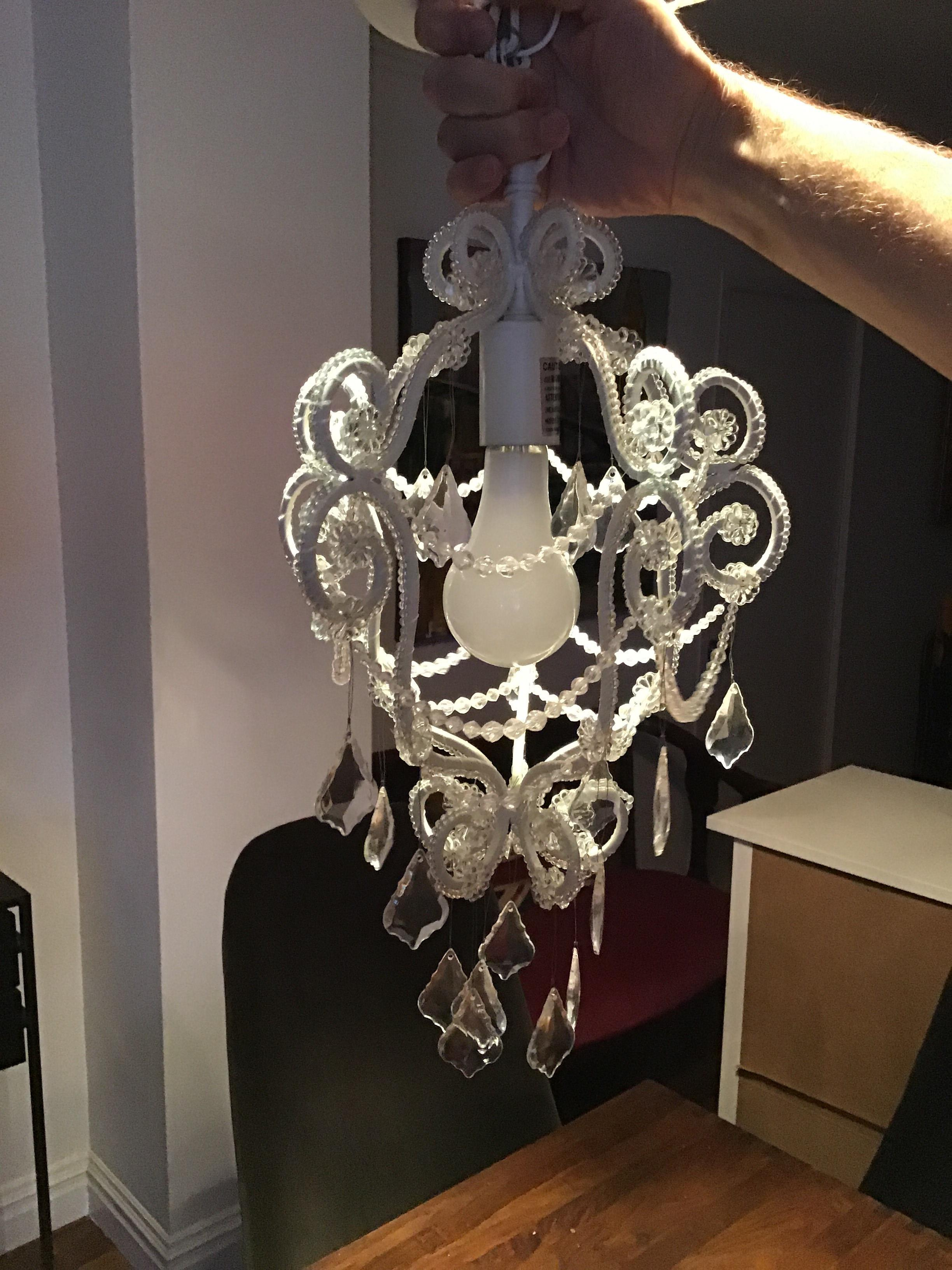 Pottery Barn Teen Metal Chandelier