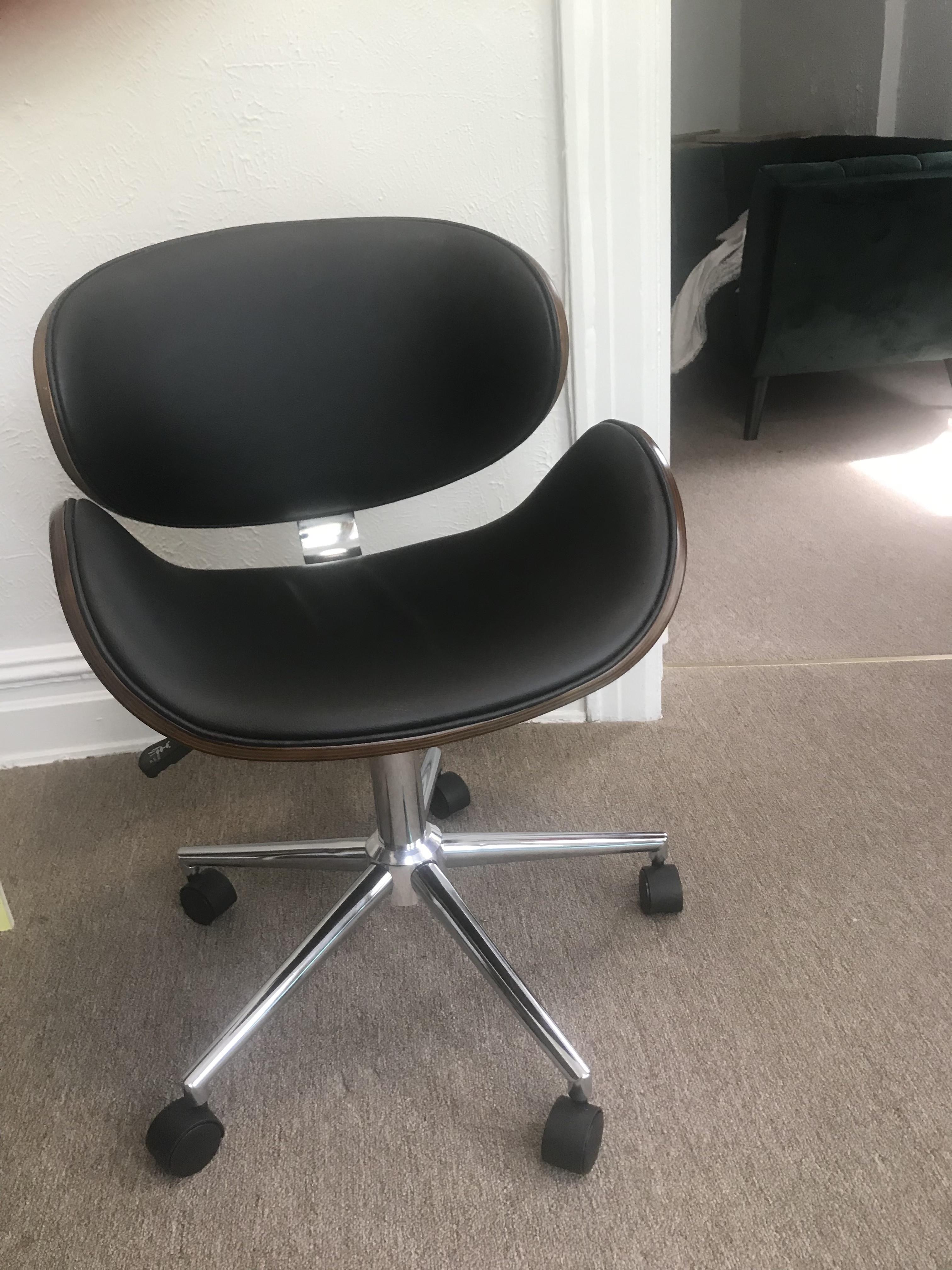 Langley Street Mid Century Modern Office Chair