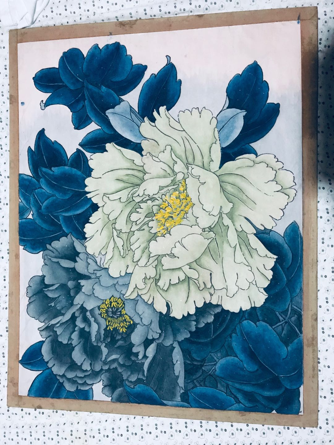 Peony Traditional Chinese Painting