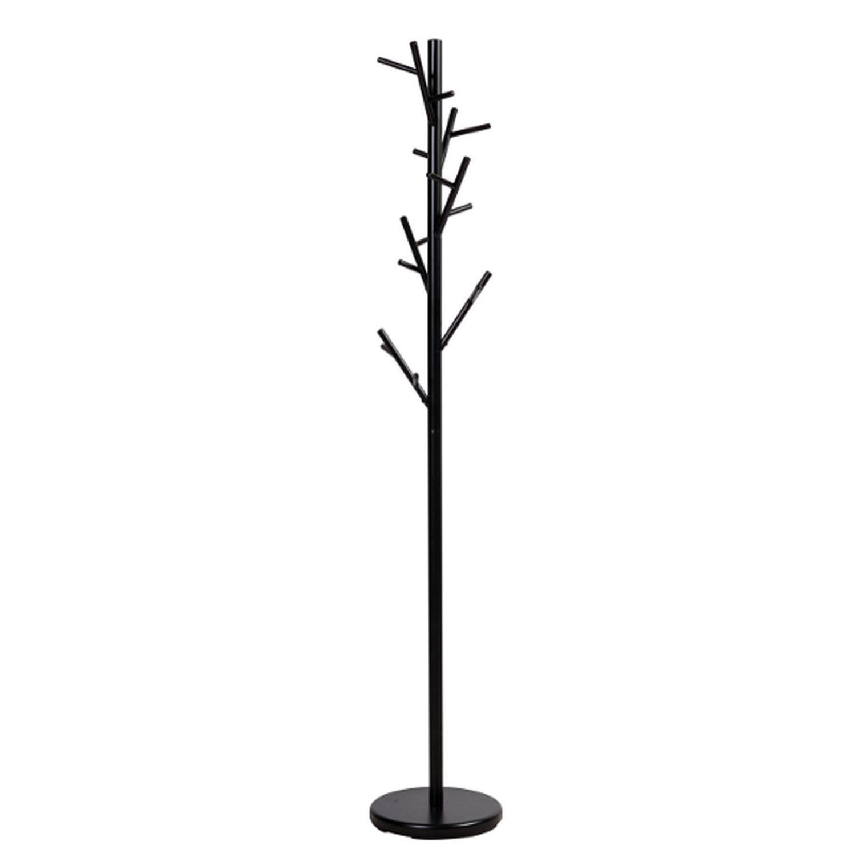 Black Coat Rack w/ Tree-Branch Inspired Design - image-1