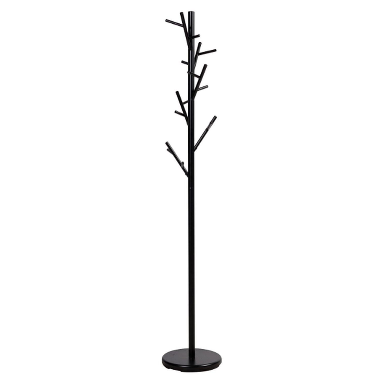Black Coat Rack w/ Tree-Branch Inspired Design - image-0