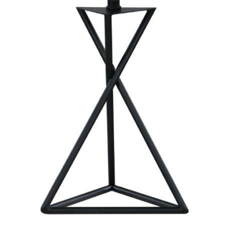 Modern Table Lamp w/ Minimalist Geometric Patterns - image-2