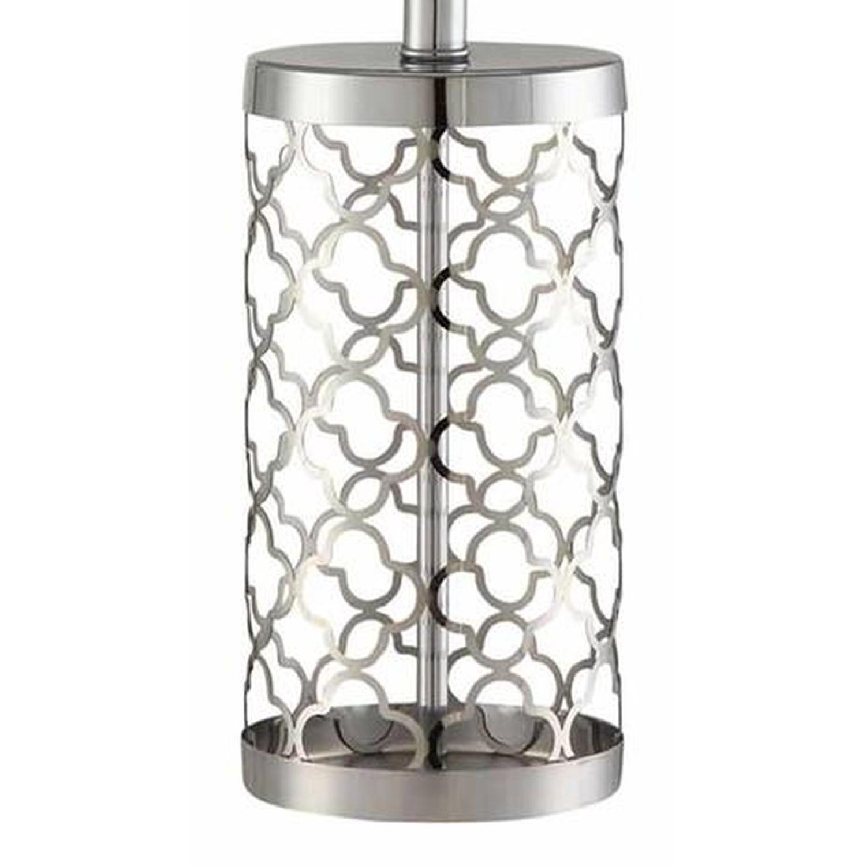Modern Table Lamp w/ Minimalist Geometric Patterns - image-9