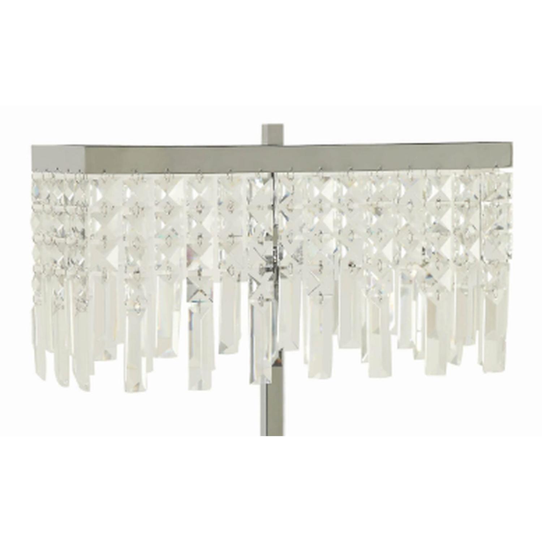 Modern Table Lamp w/ Minimalist Geometric Patterns - image-17