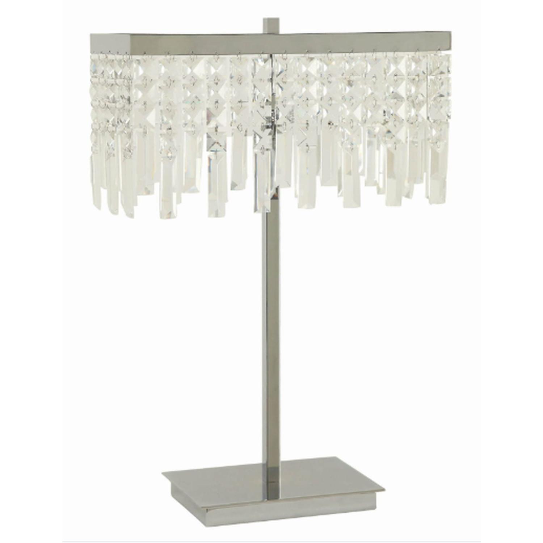 Modern Table Lamp w/ Minimalist Geometric Patterns - image-18