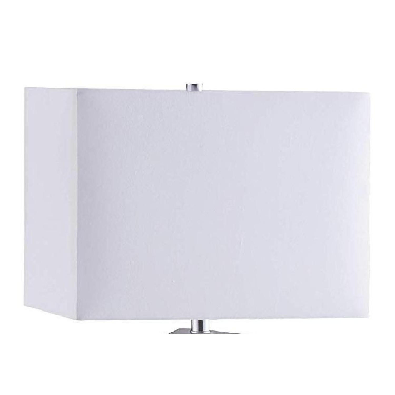 Modern Table Lamp w/ White Ceramic Sculptural Base - image-1
