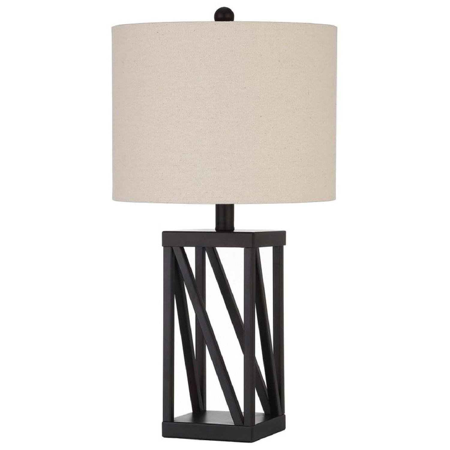 Table Lamp w/ Simple Open Base - image-0