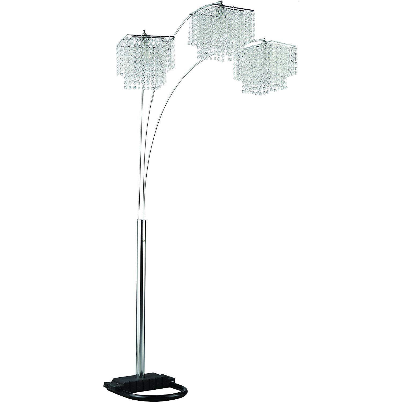 Modern Miminalist Floor Lamp In Brass Finish - image-6
