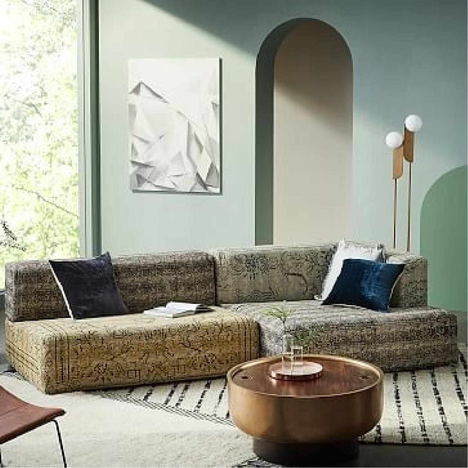 West Elm Astrid Bohemian Sectional
