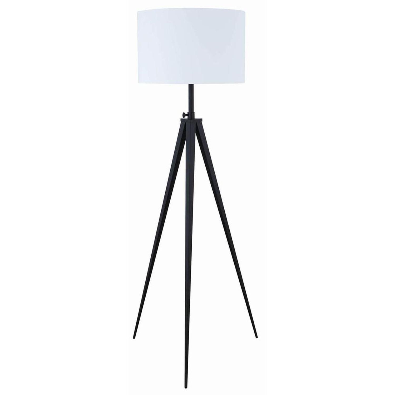 Modern Tripod Style Height Adjustable Floor Lamp - image-0