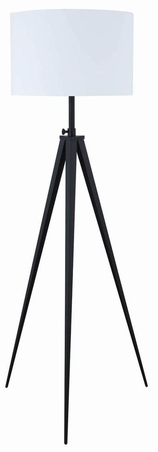 Modern Tripod Style Height Adjustable Floor Lamp