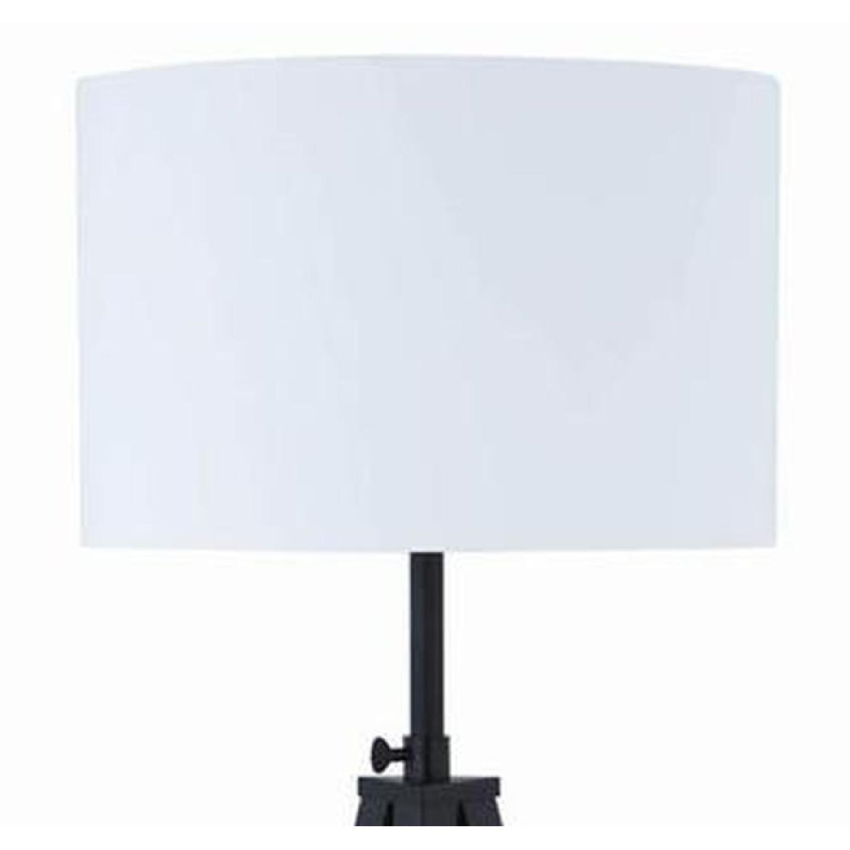 Modern Tripod Style Height Adjustable Floor Lamp - image-1