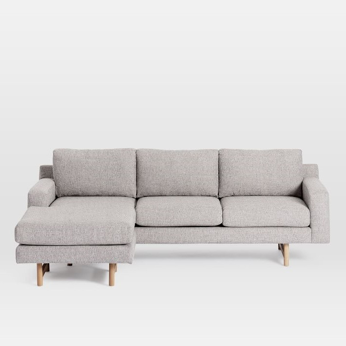 West Elm Eddy Reversible Sectional Sofa