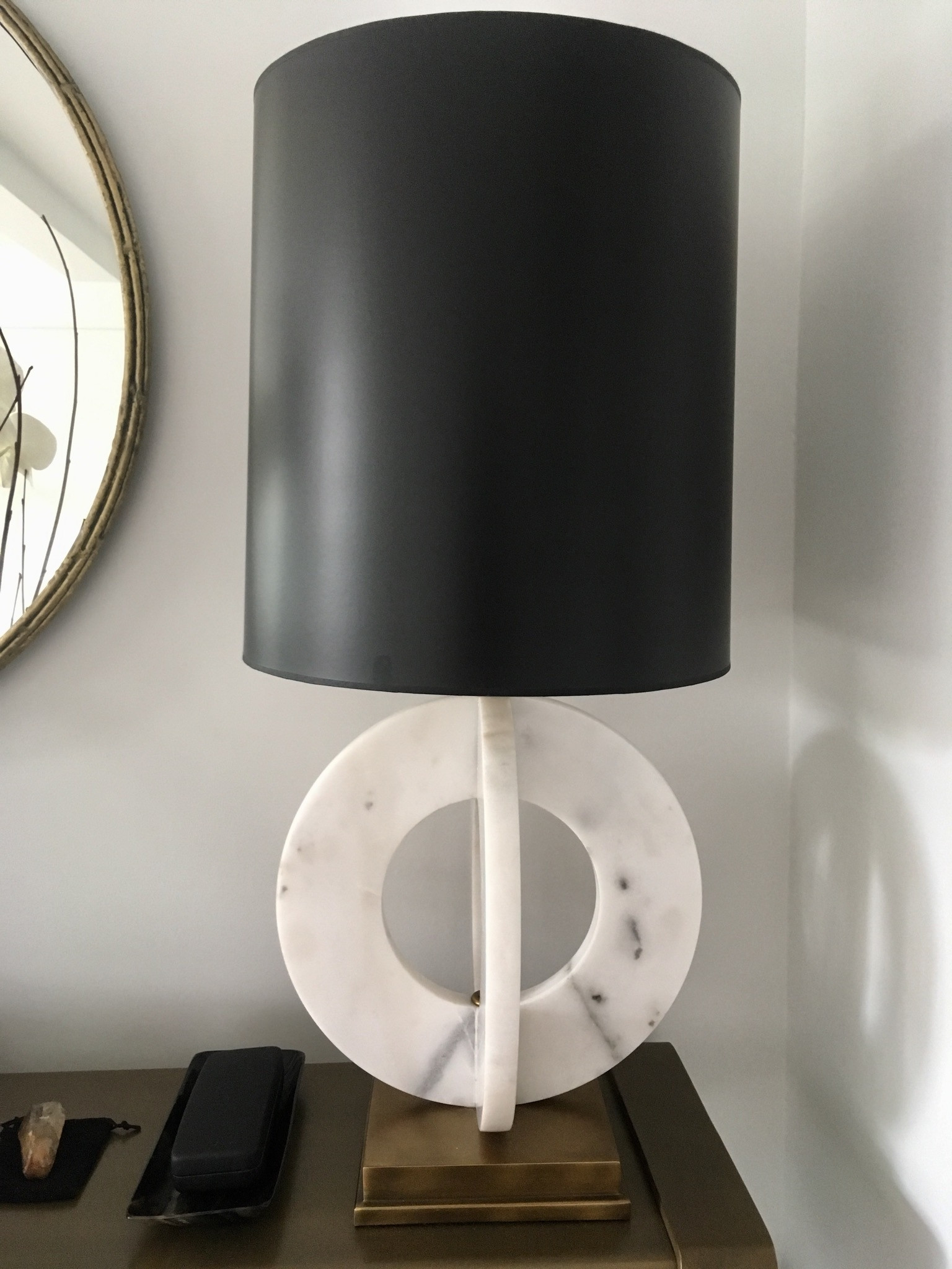 Currey and Company Felice Table Lamp w/ Custom Shade