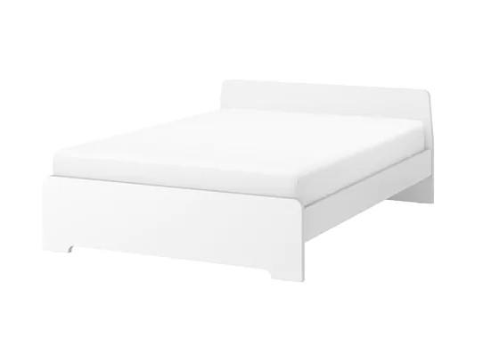 Ikea Askvoll White Bed Frame