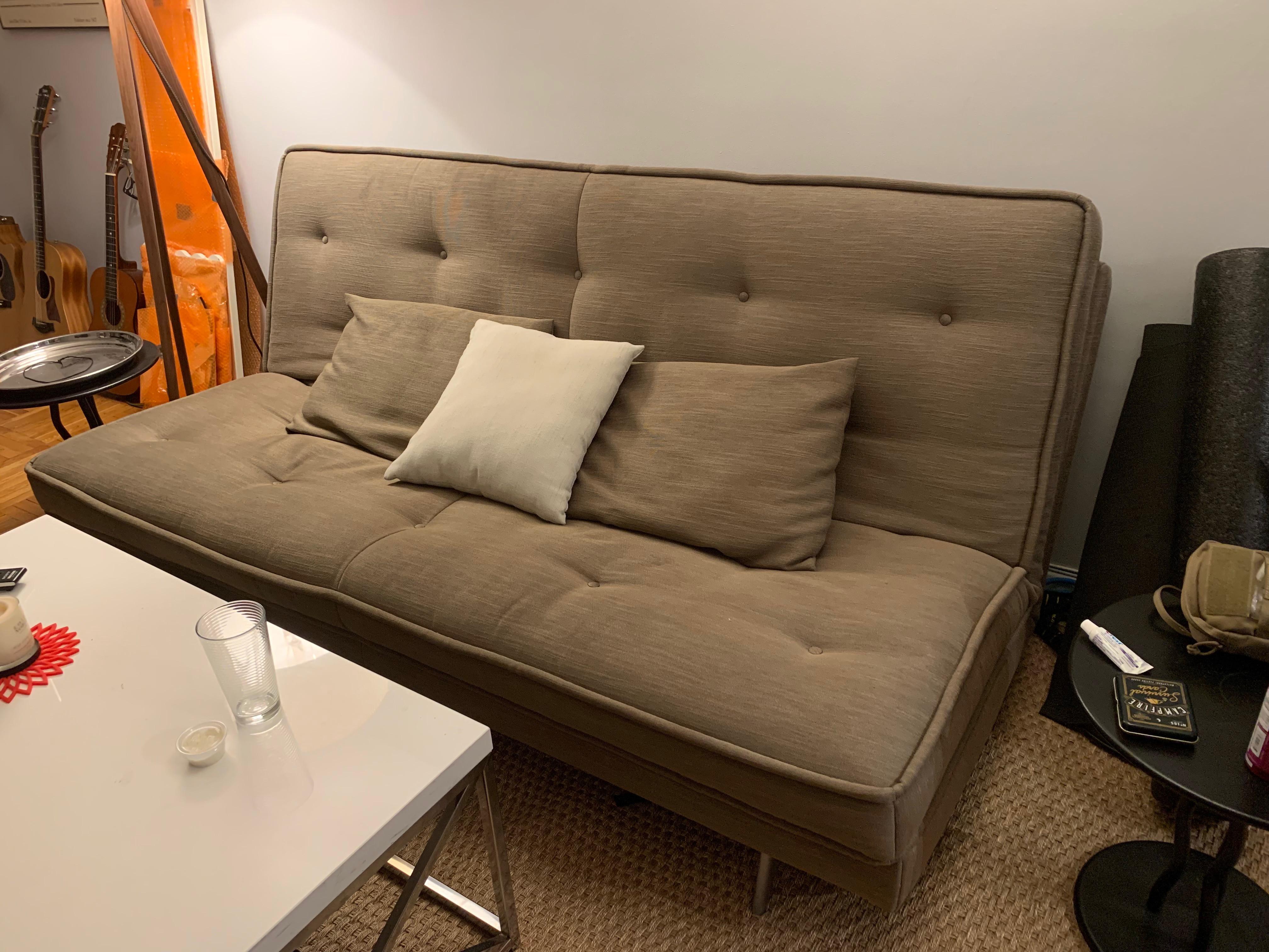 Ligne Roset Nomade Express Sleeper Sofa Aptdeco