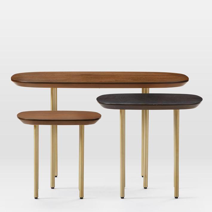 West Elm Trio Nesting Tables - Set of 3