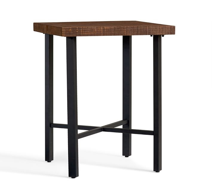 Pottery Barn Reclaimed Wood Bar Height Table