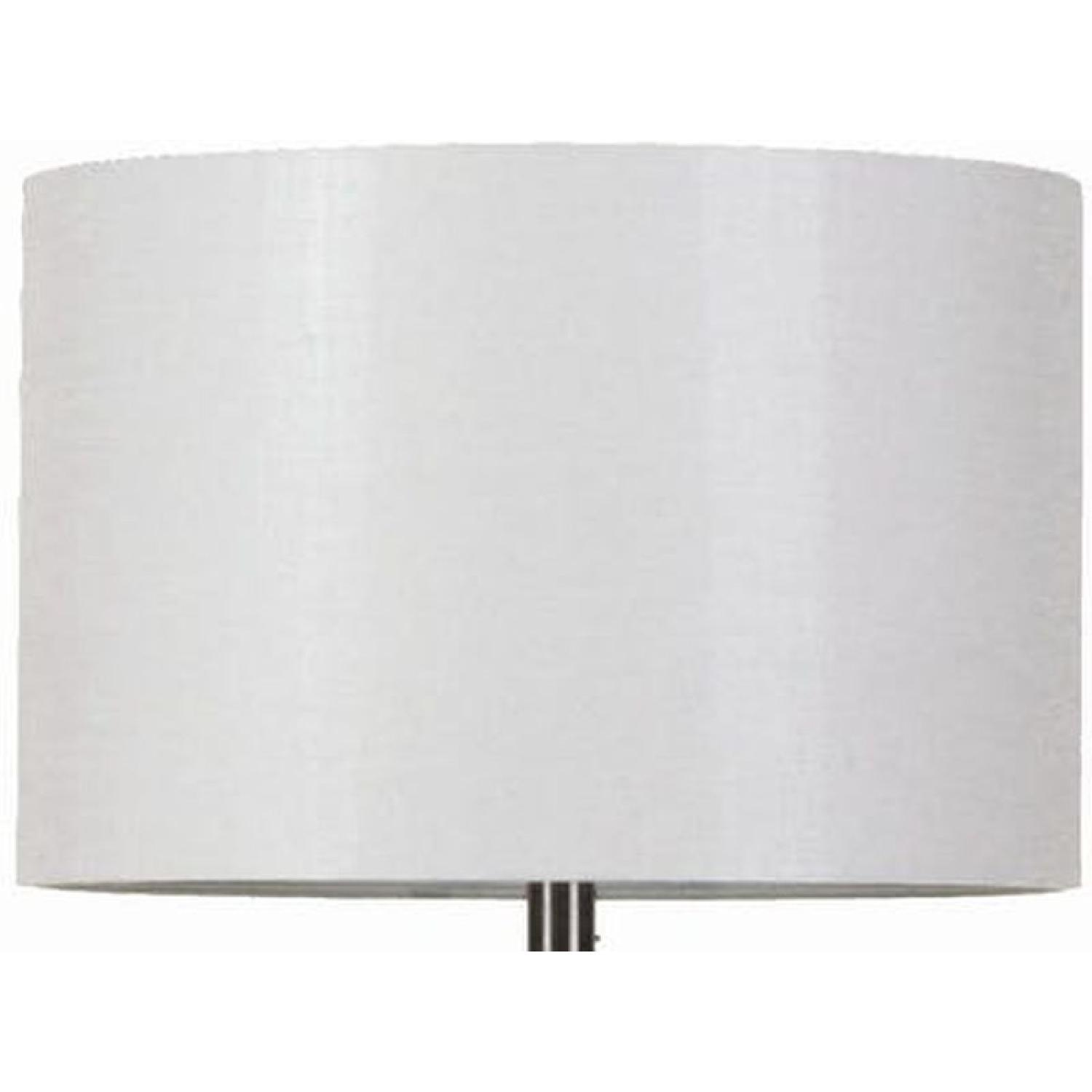 Table Lamp w/ Perpendicular Lines in an Architectural Frame - image-7