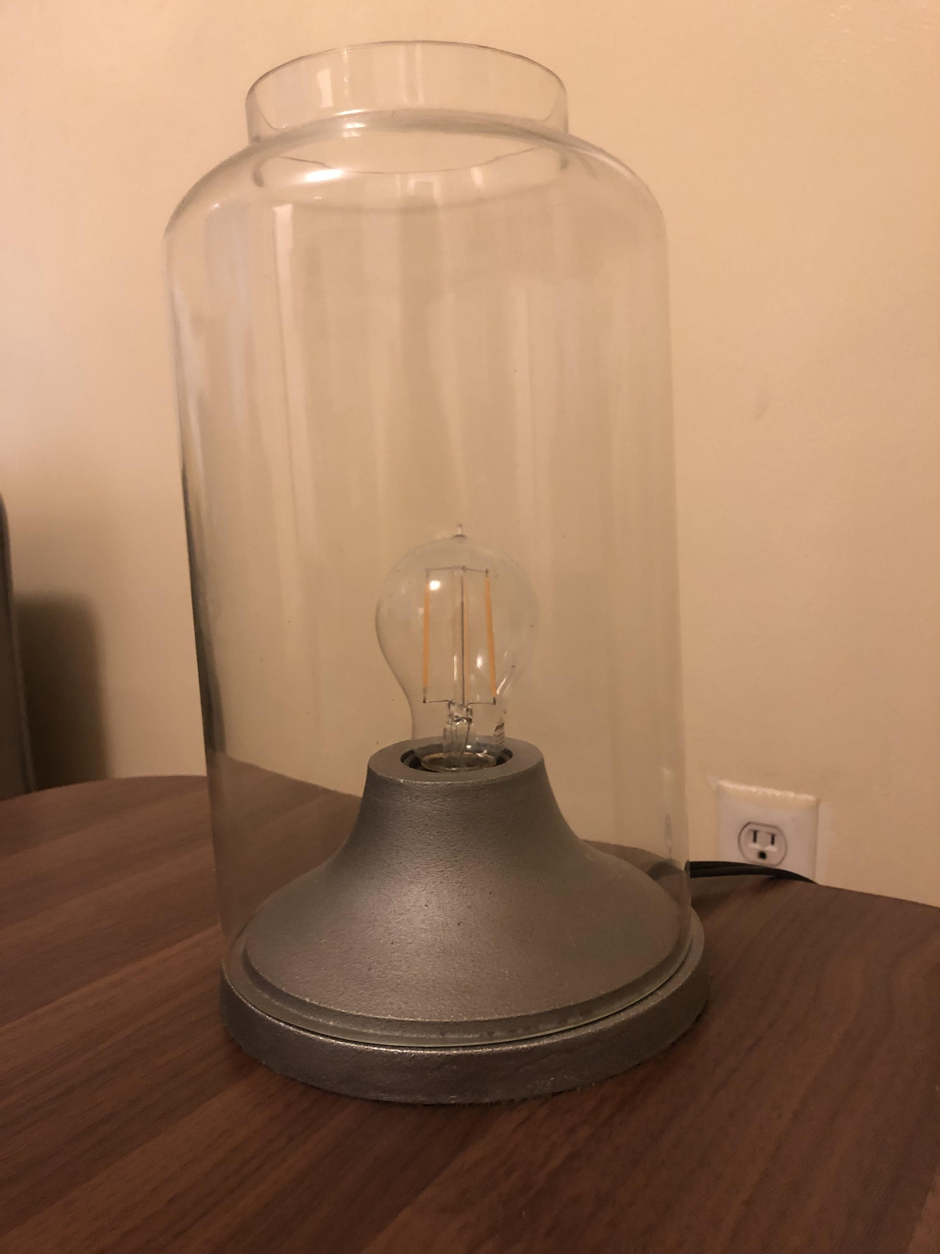 Industrial-Style Table Lamp