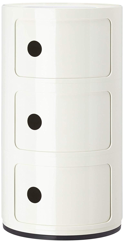 Kartell Componibili 3 Door Tower Storage Unit
