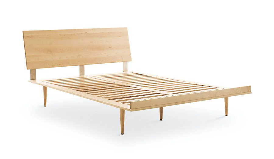 Design Within Reach American Modern Full Bed in Maple