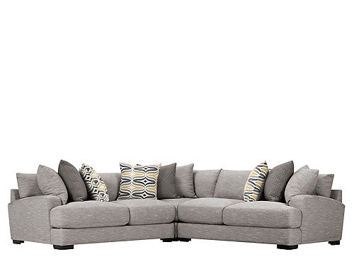 Raymour & Flanigan L-Shaped Sectional Sofa