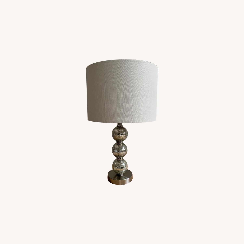 Mercury Glass Triple-Sphere Table Lamp