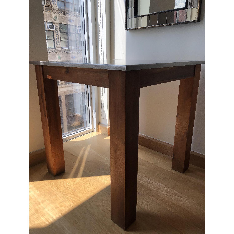 West Elm Wood/Metal Kitchen Table