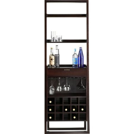 Crate & Barrel Sloane Leaning Wine Bar