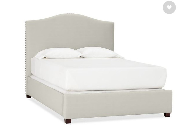 Pottery Barn Queen Upholstered Bed Frame